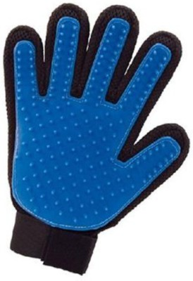 Empire Stores Grooming Gloves for Dog, Cat, Horse, Hamster(Black, Blue, Fits All)