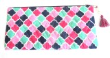 Needlecrest Cotton Quilted Pouch (Multic...