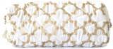 Needlecrest Gold print Pouch (White)