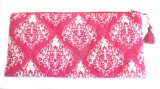 Needlecrest Cotton Quilted Pouch (Pink)