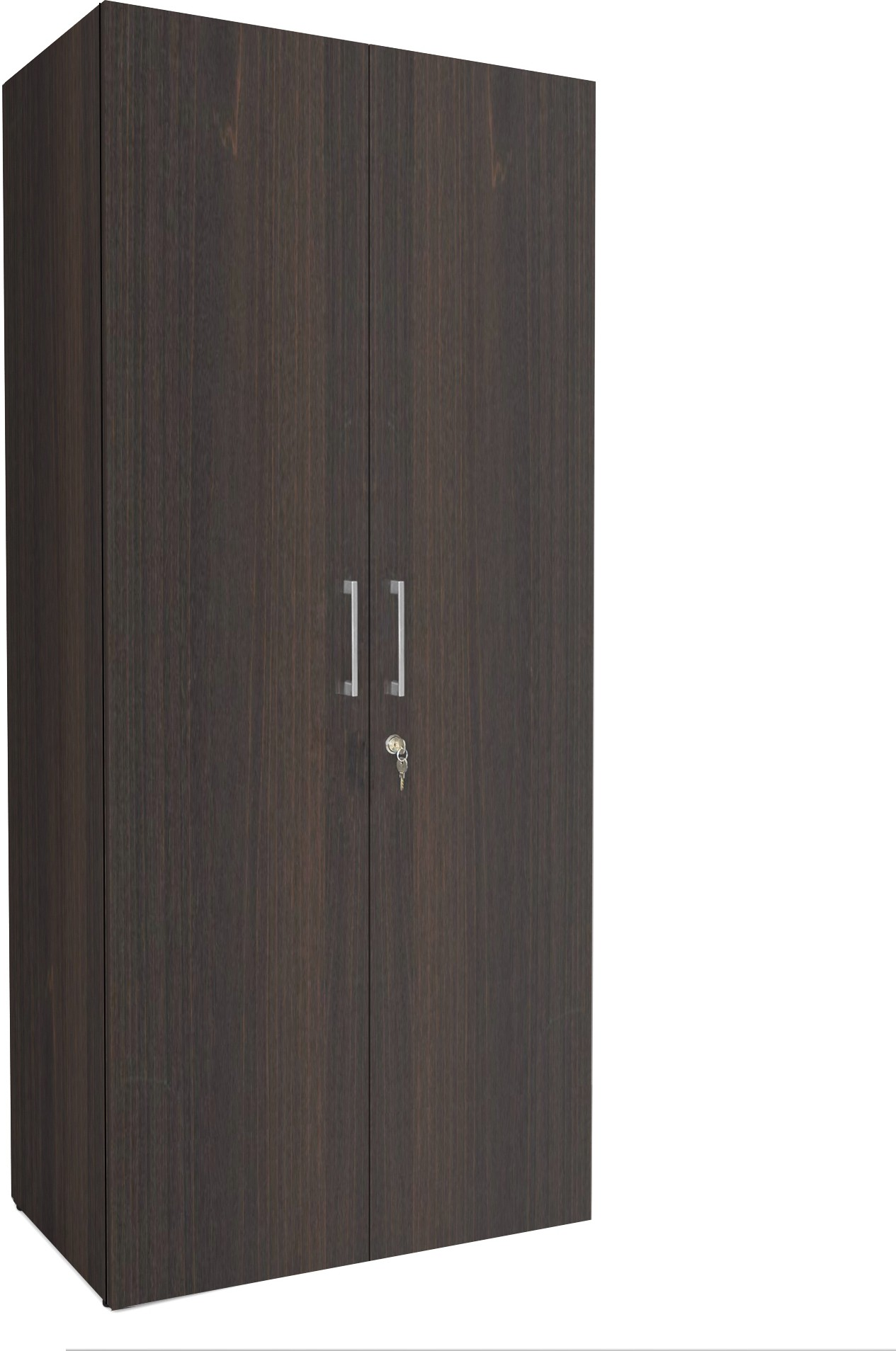 View UNiCOS Maxima Engineered Wood Modular Wardrobe(Finish Color - Midnight oak, 2 Door ) Furniture (UNiCOS)