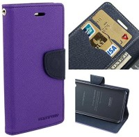 MKR Flip Cover for Micromax Canvas Doodle 4 Q391(Purple)