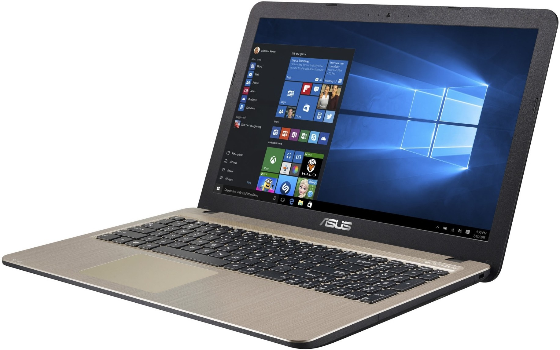 Asus X-SERIES Core i3 6th Gen - (4 GB/1 TB HDD/DOS) 90NB0CF1-M12590 X541UV-DM846D Notebook(15.6 inch, Black)