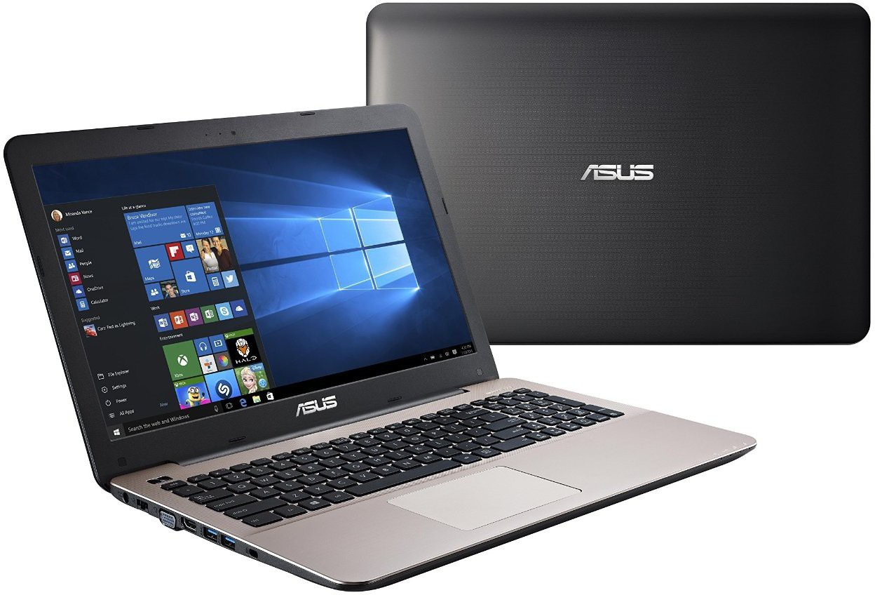 Asus A-SERIES Core i3 5th Gen - (4 GB/1 TB HDD/Windows 10 Home/2 GB Graphics) 90NB08H2-M06010 A555LF-XX406T Notebook(15.6 inch, Dark Brown)