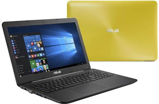 View Asus A-SERIES Core i3 5th Gen - (4 GB/1 TB HDD/DOS) 90NB0656-M37160 A555LA-XX2068D Notebook(15.6 inch, Yellow) Laptop