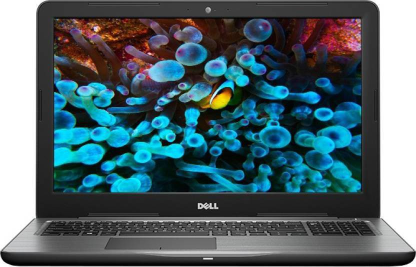 Dell Inspiron 5000 Core i5 7th Gen - (8 GB/2 TB HDD/Windows 10 Home/4 GB Graphics) 5567 Notebook(15.6 inch, Black)   Laptop  (Dell)