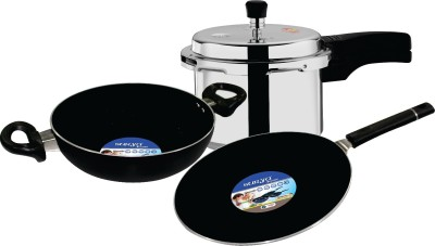 Surya Accent Combo Cookware Set(Aluminium, 3 - Piece) at flipkart
