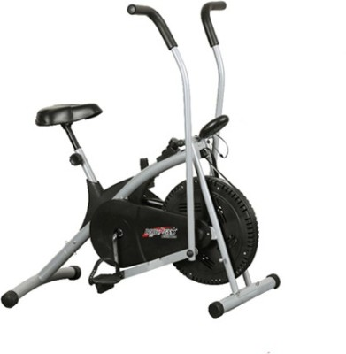 Deemark AIR BIKE STAMINA CYCLE FITNESS BIKE FOR HOME USE Indoor Cycles Exercise Bike(Black, Grey)