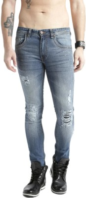 Roadster Skinny Mens Blue Jeans
