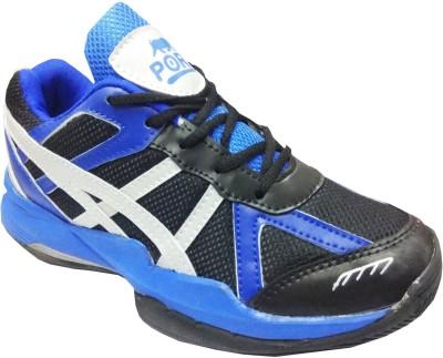 Port Xtinger Badminton Shoes(Black)