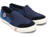 Lee Cooper Canvas Loafers (Navy)