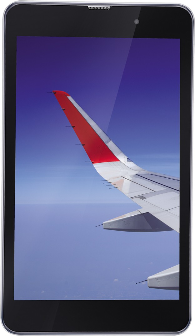 View iBall Slide Wings 4GP 16 GB 8 inch with Wi-Fi+4G(Silver Chrome) Tablet Note Price Online(iBall)