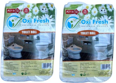 Oxi Fresh TR2640P 12 Toilet Paper Roll