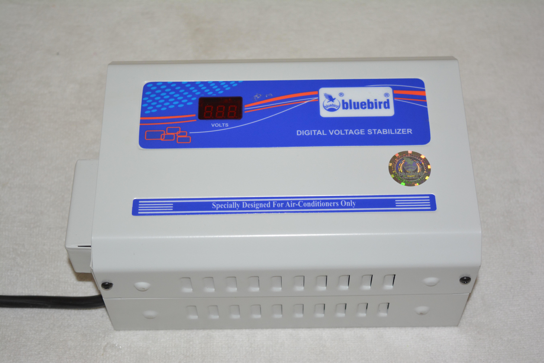 View Blue Bird ba417 Voltage Stabalizer(Grey, Blue) Home Appliances Price Online(Blue Bird)