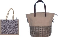 ABV traders ABV Lunch Bag, Jute Bag, Hand-Held Bag, Carry Bag, Travel Bag, Hand Bag, Shopping Bag, Lunch Bag for Men/Women/Student Lunch Bag Combo of