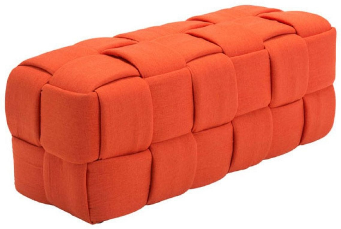 View black square Engineered Wood 2 Seater(Finish Color - Orange) Furniture (black square)