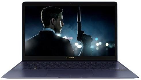 View Asus Zen Book 3 Series Core i7 7th Gen - (16 GB/512 GB SSD/Windows 10) UX390UA-GS048T Ultrabook(12.5 inch, Blue, 0.91 kg) Laptop