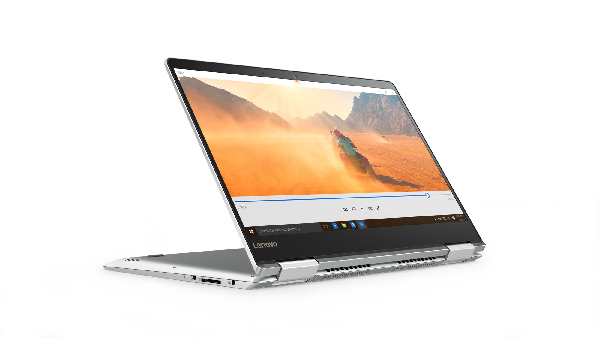View Lenovo Core i7 7th Gen - (8 GB/256 GB SSD/Windows 10 Home/2 GB Graphics) Yoga 710 2 in 1 Laptop(14 inch, SIlver, 1.6 kg) Laptop