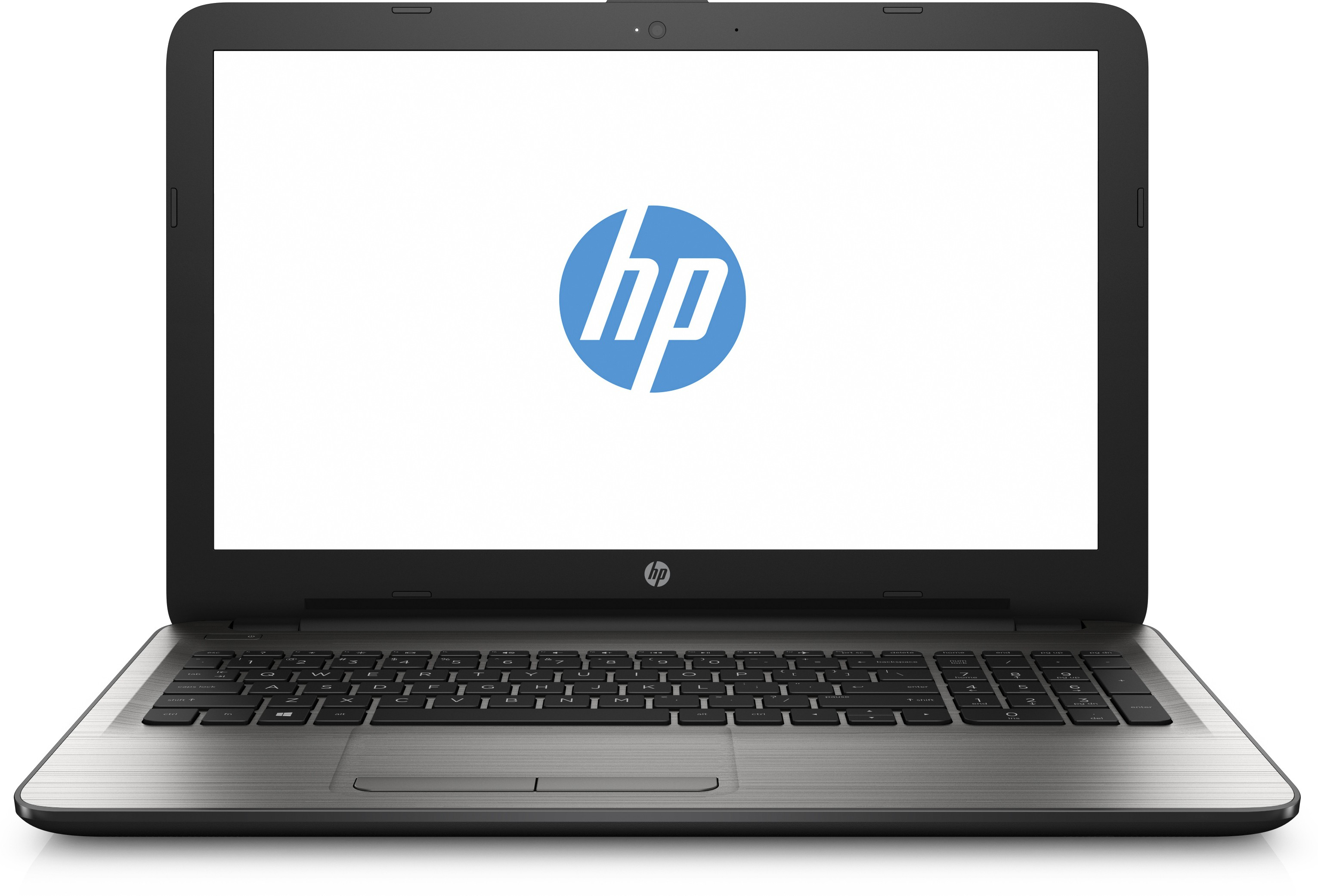 View HP Core i5 6th Gen - (4 GB/1 TB HDD/DOS/2 GB Graphics) 15-be015TX Notebook(15.6 inch, SIlver) Laptop