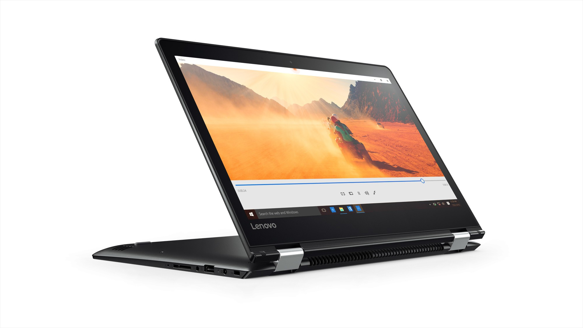 Lenovo Core i5 7th Gen - (8 GB/1 TB HDD/Windows 10 Home/2 GB Graphics) Yoga 510 2 in 1 Laptop(14 inch, Black, 1.73 kg)   Laptop  (Lenovo)