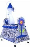 Besto Baby crib cradle bassinet (blue) (...