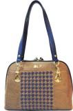 Mex Hand-held Bag (Blue, Brown)