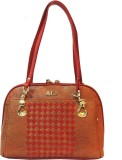 Mex Hand-held Bag (Red, Brown)