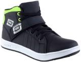 Clerk Boys Velcro Casual Boots (Green)