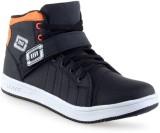 Clerk Boys Velcro Casual Boots (Black)
