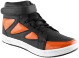 Clerk Boys Velcro Casual Boots (Orange)
