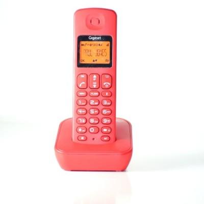 Gigaset A100 Cordless Landline Phone(Red)