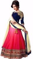 Colour Trendz Chaniya, Ghagra Cholis - Colour Trendz Self Design Circular Lehenga