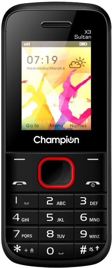 View Champion X3 SULTAN(Black & Red)  Price Online