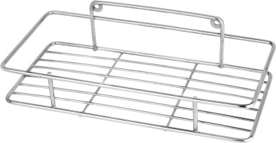 Royal Home Decor Spice Rack - Multipurpose Rack Stainless Steel Wall Shelf(Number of Shelves - 1) at flipkart