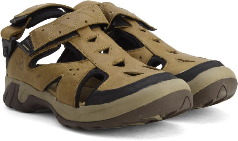 Woodland Men CAMEL Sports Sandals