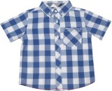 Mothercare Boys Checkered Casual Shirt