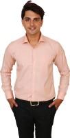 Real Value Formal Shirts (Men's) - Real Value Men's Printed Formal Pink Shirt