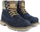 CAT COLORADO (BASIC SPICE) Boots (Blue)