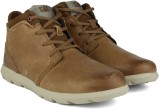 CAT TRANSCEND High Ankle Sneakers (Brown...