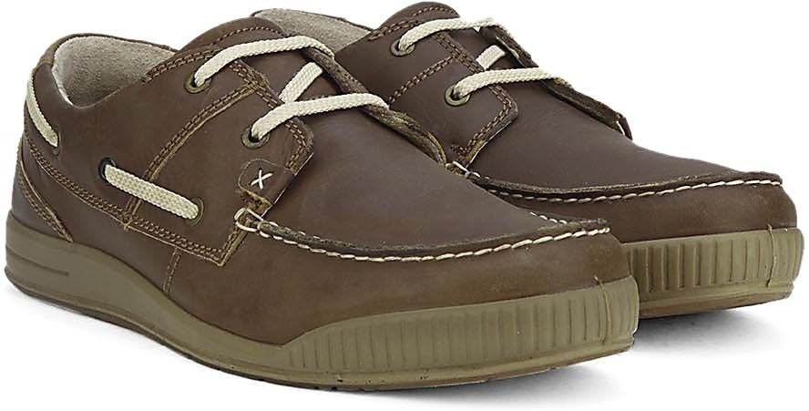 Woodland Boat shoes(Brown)