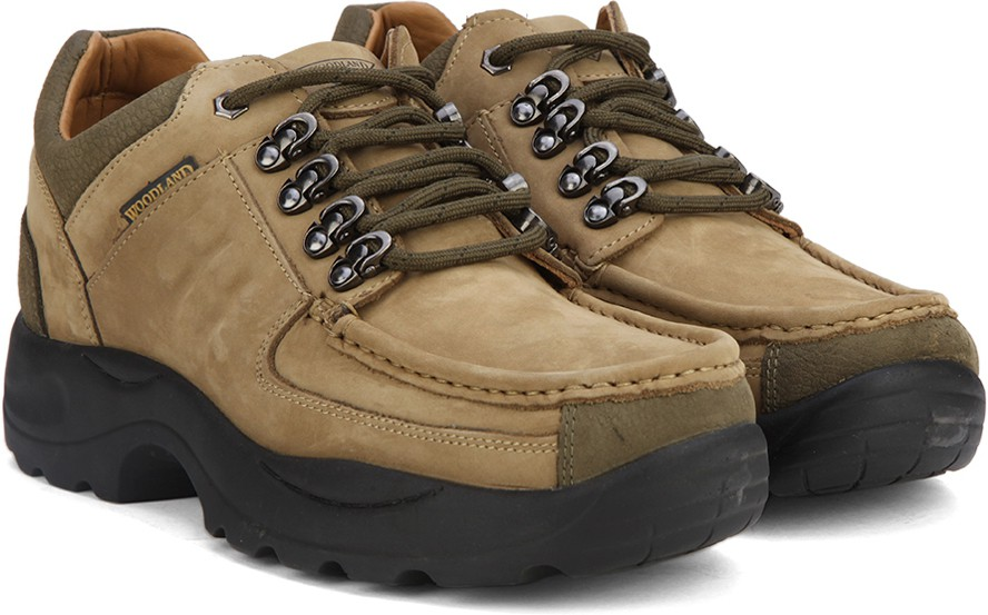 Woodland Outdoor Shoes(Khaki)