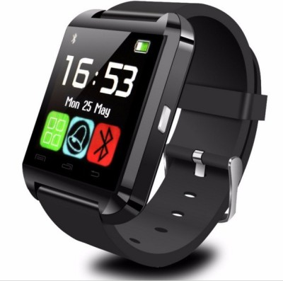 Celestech NS01 with Bluetooth and Fitness Tracker Black Smartwatch(Black Strap)