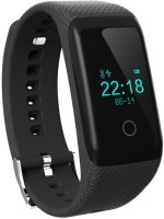 ZVR FLIPFIT Fitness Band HEART RATE MONITOR BLUETOOTH CALL NOTIFICATION 3D Pedometer Calorie Monitor band tracker touch button Smartwatch(Black Strap Regular)