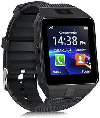 Celestech WS04 with SIM, 32 GB Memory Card Slot, Bluetooth and Fitness Tracker Gunmetal Grey Smartwatch(Black Strap Regular)
