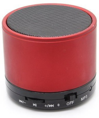 Jiyanshi S10 Portable Bluetooth Mobile/Tablet Speaker(Red, 2.1 Channel)