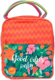 Chumbak Lunch Bag (Orange, 1 L)