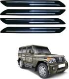 AdroitZ Plastic Car Bumper Guard (Black,...