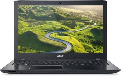 Acer E Series Core i3 6th Gen - (4 GB/1 TB HDD/Linux) NX.GE6SI.021 Aspire E5-575-3203 Notebook(15.6 inch, Black, 2.23 kg)