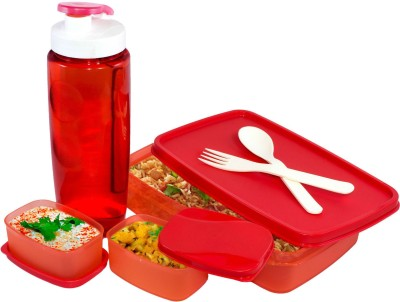 Oliveware Lunch Box Fancy Set 2 Containers Lunch Box(1000 ml)