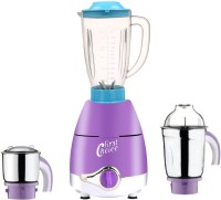 First Choice ABS Plastic LPMG17_222 600 W Juicer Mixer Grinder(Lavender, 3 Jars)